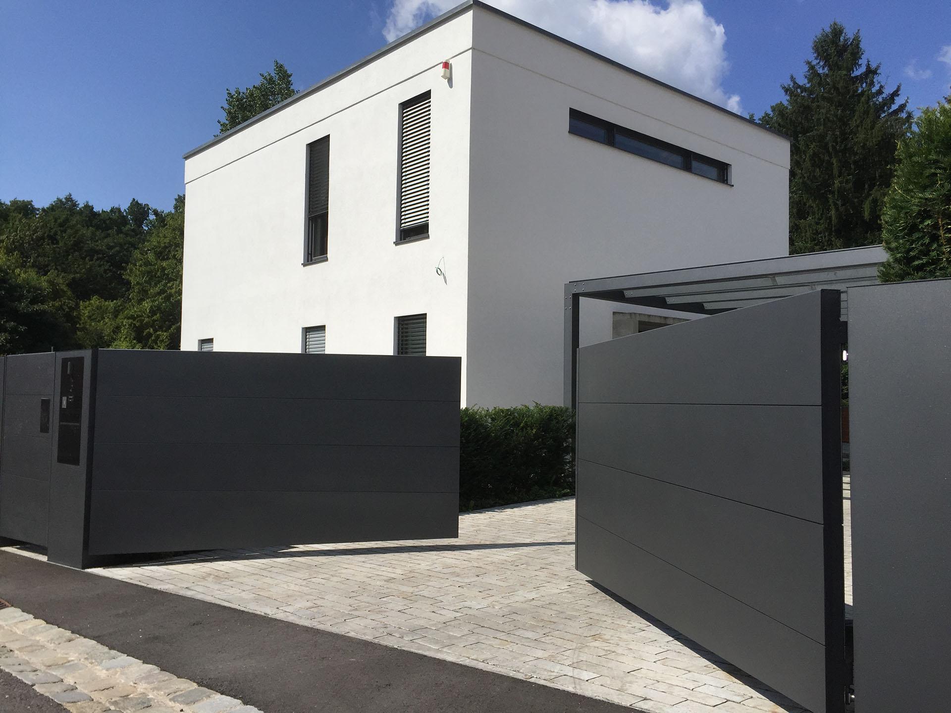 Sichtschutz Tore Schnabel Einfahrtstore